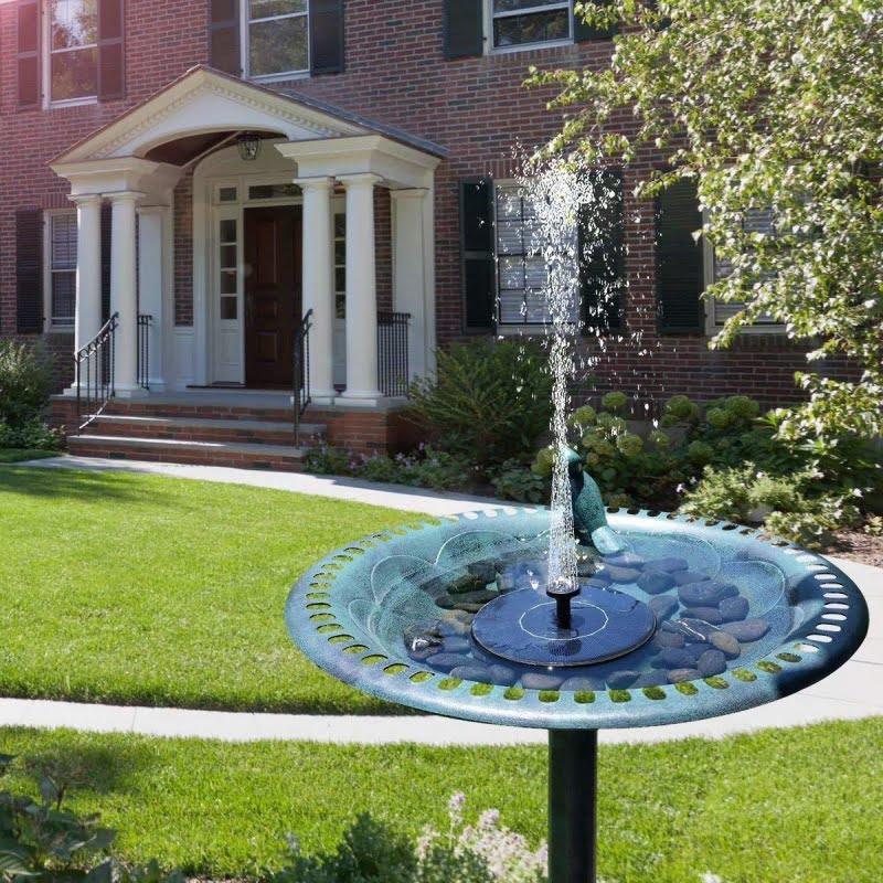 Соларен фонтан за градина - Potrebno